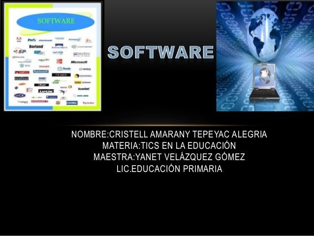 NOMBRE:CRISTELL AMARANY TEPEYAC ALEGRIA     MATERIA:TICS EN LA EDUCACIÓN    MAESTRA:YANET VELÁZQUEZ GÓMEZ        LIC.EDUCA...