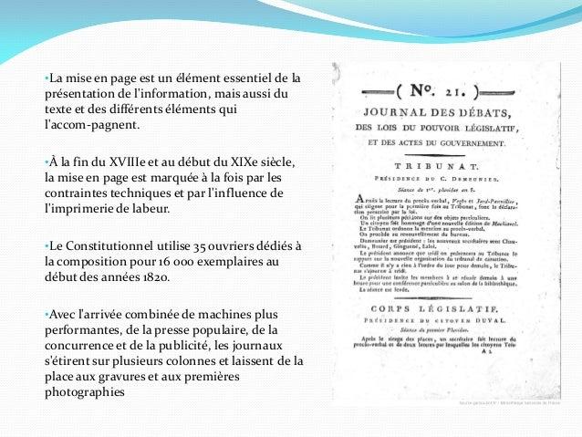 •La mise en page est un élément essentiel de laprésentation de linformation, mais aussi dutexte et des différents éléments...