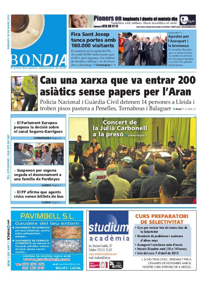dimarts 20 DE març 2012                                                                                        Fira Sant J...