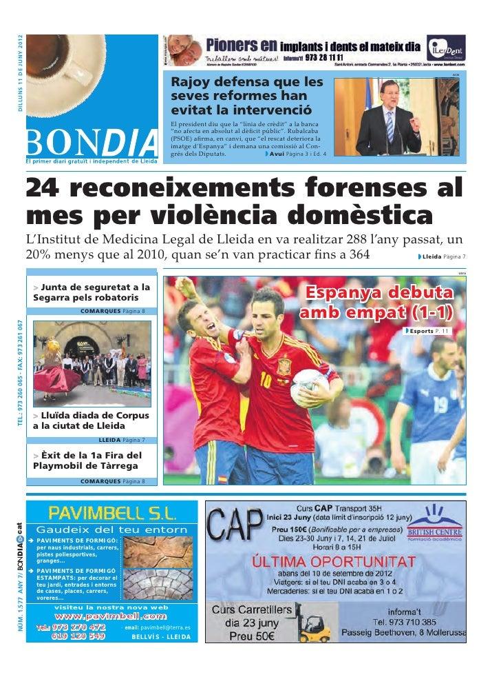 dilluns 11 DE juny 2012                                                                                   Rajoy defensa qu...