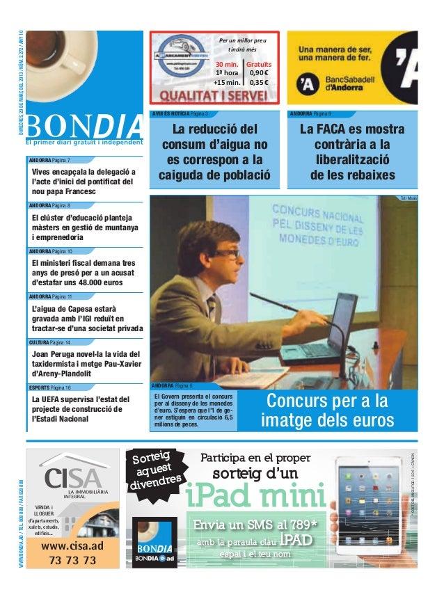 DIMECRES, 20 DE MARÇ DEL 2013 / NÚM. 2.272 / ANY 10                                                                       ...