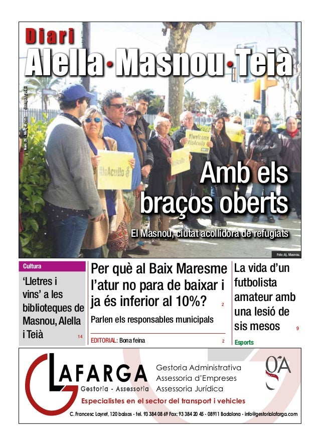 C. Francesc Layret, 120 baixos - tel. 93 384 08 69 Fax: 93 384 20 45 - 08911 Badalona - info@gestorialafarga.com Gestoria ...
