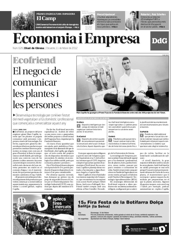 PÀGINES D'AGRICULTURA I RAMADERIA                                            Mercat hipotecari                            ...