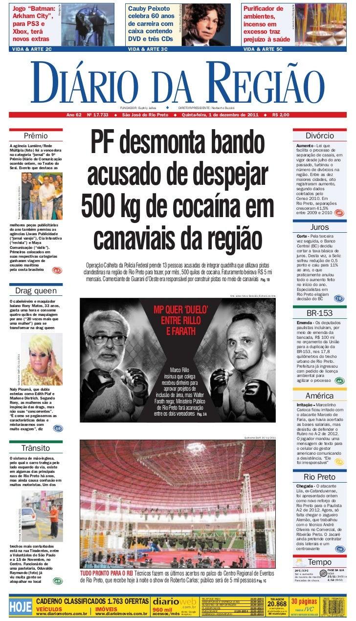 DIÁRIO DA REGIÃO                                                                                                          ...