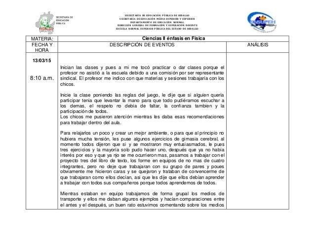 SECRETARÍA DE EDUCACIÓN PÚBLICA DE HIDALGO SECRETARÌA DE EDUCACIÒN MEDIA SUPERIOR Y SUPERIOR DEPARTAMENTO DE EDUCACIÒN NOR...