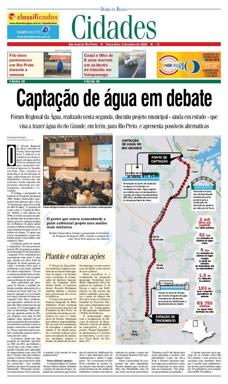 São José do Rio Preto ◆ Terça-feira, 4 de junho de 2019 ◆1B PÁGINA 3B Frio deve permanecer em Rio Preto durante a sema...