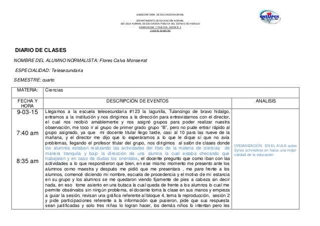 SUBSECRETARÍA DE EDUCACIÓN NORMAL DEPARTAMENTO DE EDUCACIÓN NORMAL ESCUELA NORMAL DE EDUCACIÓN PÚBLICA DEL ESTADO DE HIDAL...