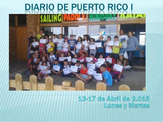 DIARIO DE PUERTO RICO I