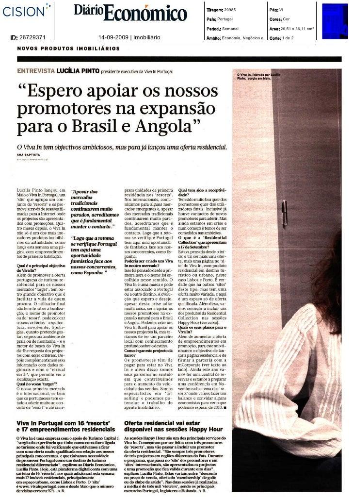 Tiragem: 20985                  Pág: VI                                            País: Portugal                  Cores: ...