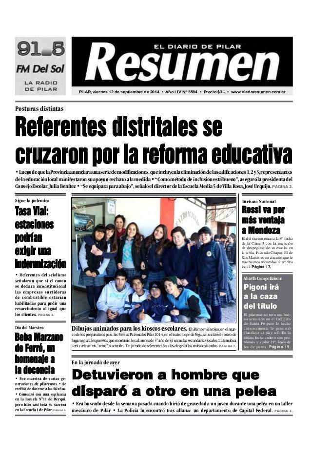 diario resumen 20140912