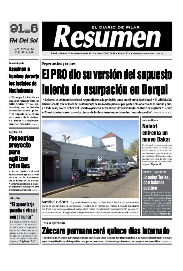 diario resumen 20141227
