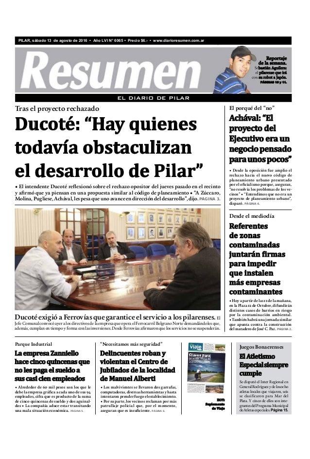 Diario Resumen 20160813