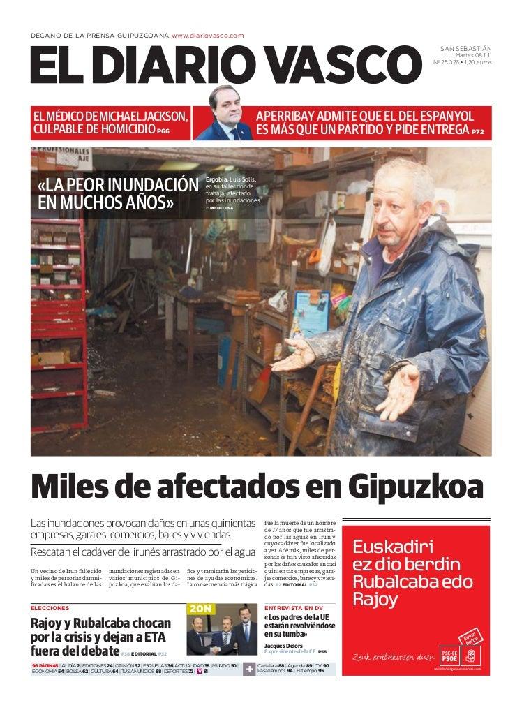 DECANO DE LA PRENSA GUIPUZCOANA www.diariovasco.com                                                                       ...