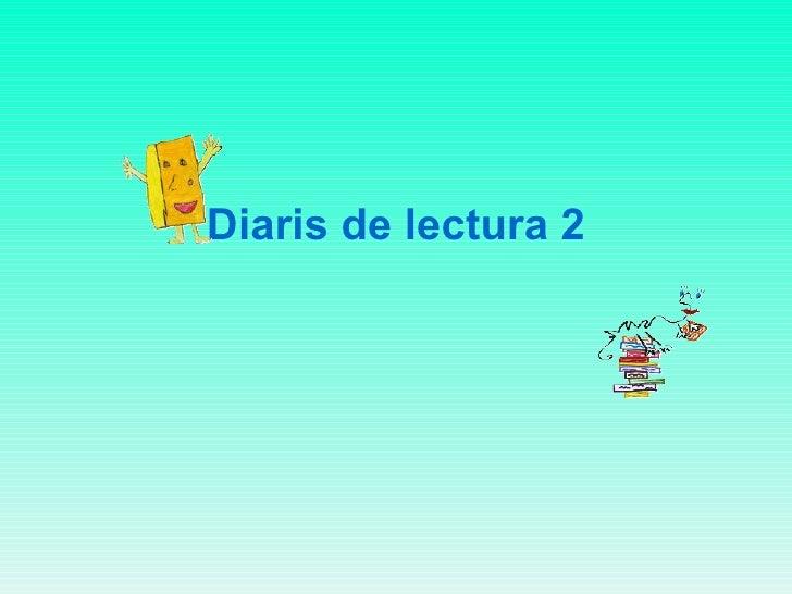 Diaris de lectura 2
