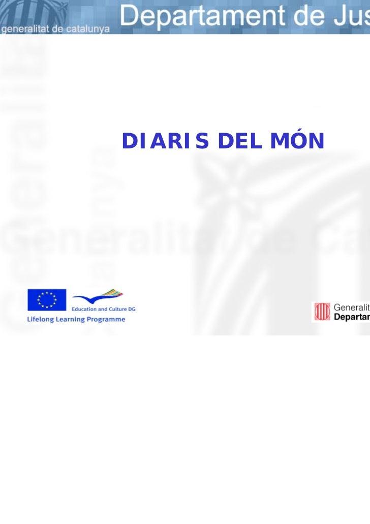 DIARIS DEL MÓN