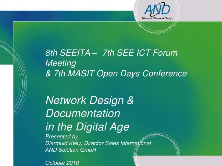 8th SEEITA – 7th SEE ICT Forum                Meeting                & 7th MASIT Open Days Conference                  Net...