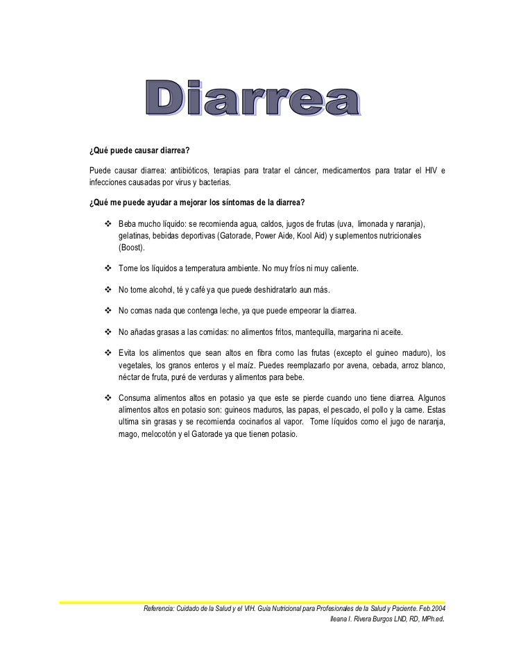 ¿Qué puede causar diarrea?Puede causar diarrea: antibióticos, terapias para tratar el cáncer, medicamentos para tratar el ...