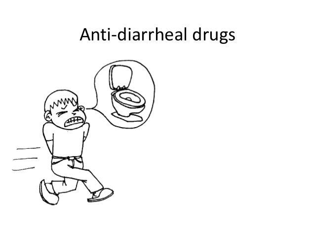 Anti-diarrheal drugs