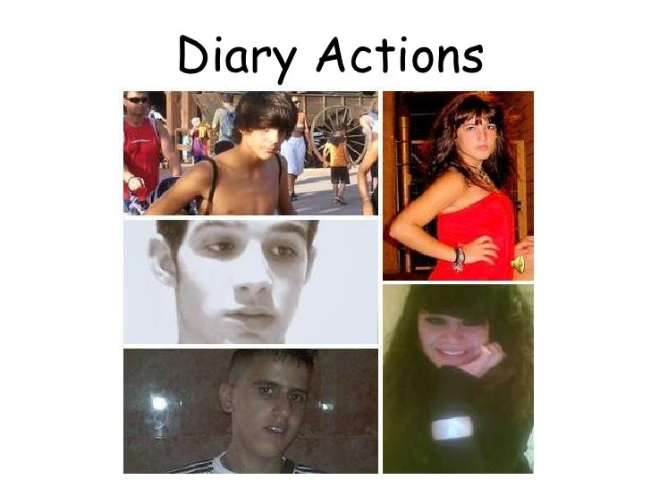 Diary Actions Adrià Artero Lidia Mª Montes Lucas Lorenzo Majo Vilchez Mohamed Reda