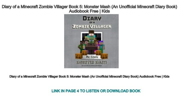 Diary of a Minecraft Zombie Villager Book 5 Monster Mash (An