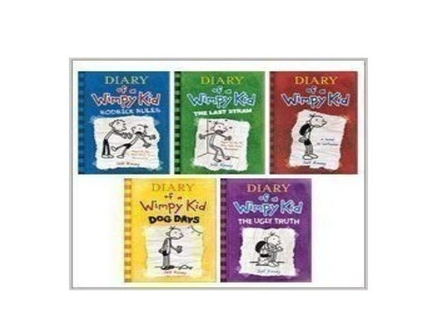 Download Epub Diary Of A Wimpy Kid 5 Book Set Diary Of A Wim