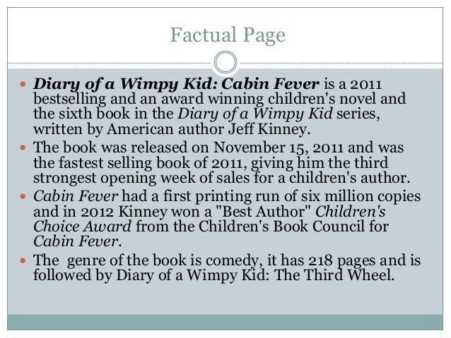 Wimpy Kids  Summary
