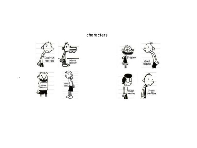 Main Characters Of Diary Of A Wimpy Kid Hard Luck