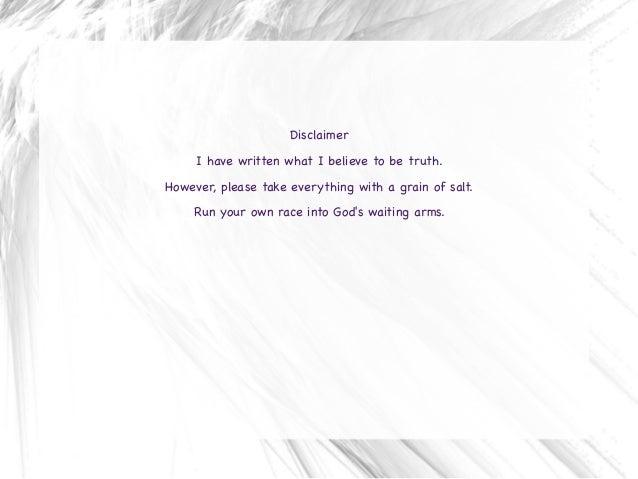 Diary of an Awakening Slide 3