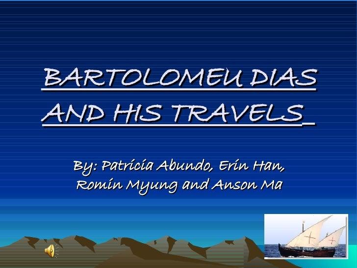 when was bartolomeu dias born