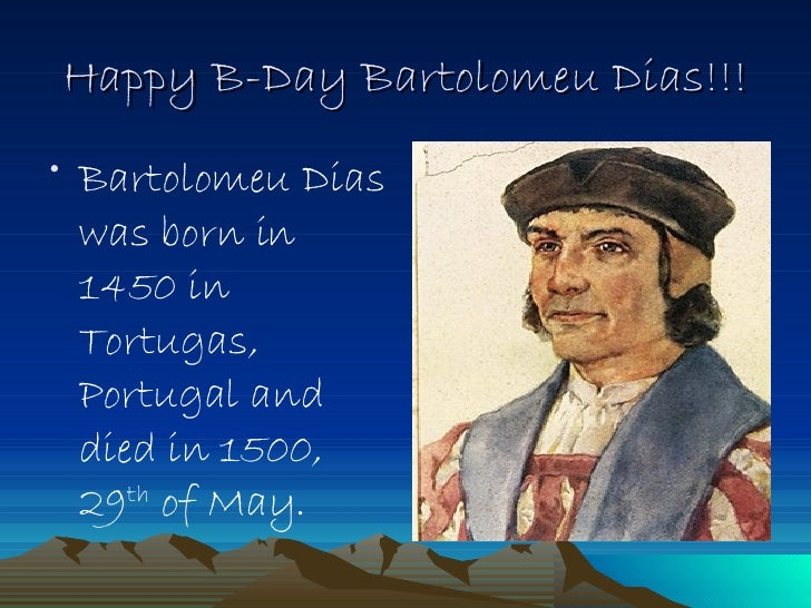 bartolomeu dias famous for