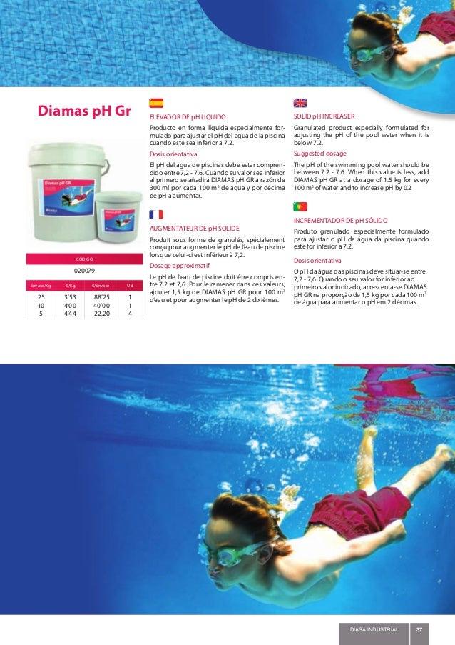 Diasa piscinas2015 for Augmenter le ph piscine