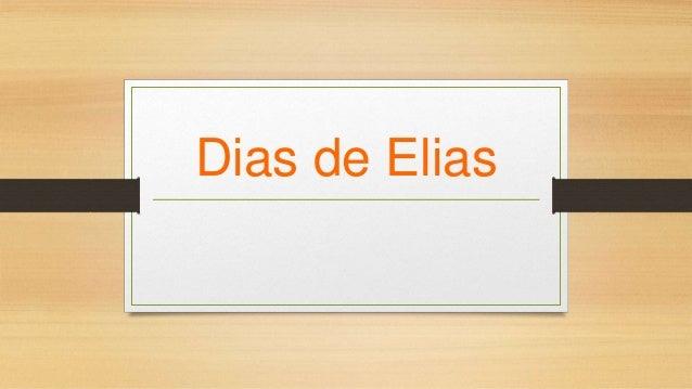 Dias de Elias