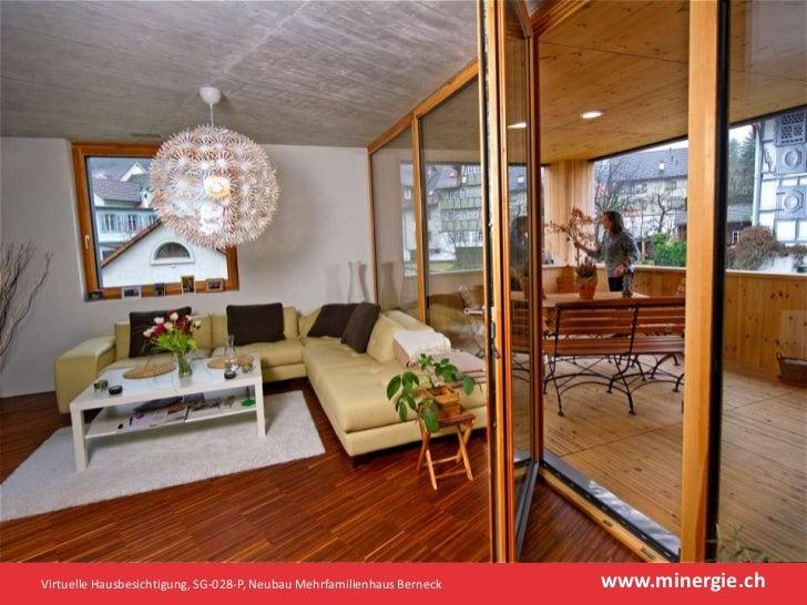 minergie p hausbesichtigung in berneck. Black Bedroom Furniture Sets. Home Design Ideas