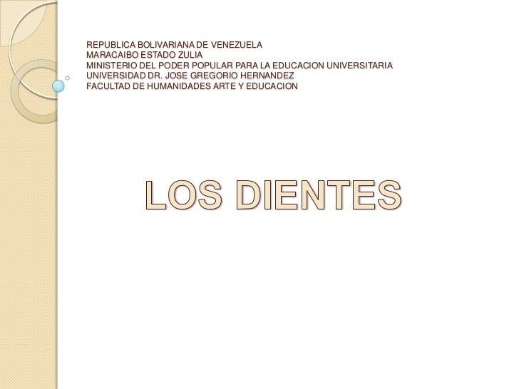 REPUBLICA BOLIVARIANA DE VENEZUELAMARACAIBO ESTADO ZULIAMINISTERIO DEL PODER POPULAR PARA LA EDUCACION UNIVERSITARIAUNIVER...