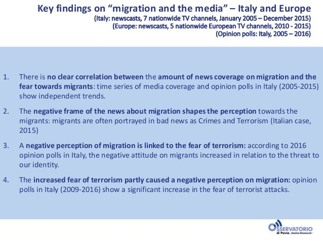 Diasporas, migration and the media in Europe: Narratives and perception Slide 2