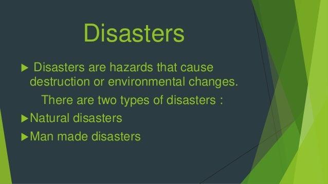 Diasters Slide 2