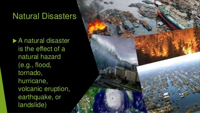 Diasters Slide 3