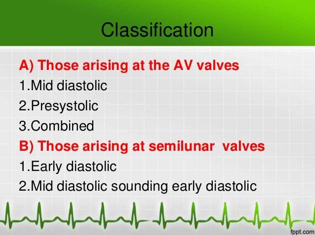 Diastolic murmurs Slide 3