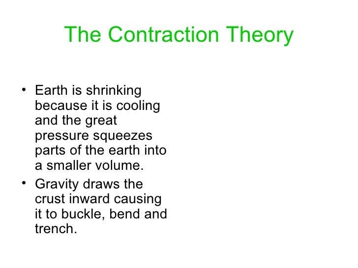 theories of diastrophism