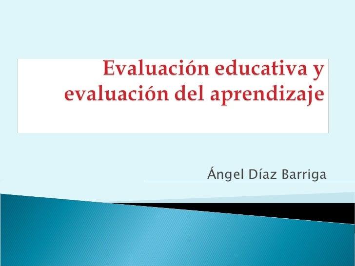 Ángel Díaz Barriga