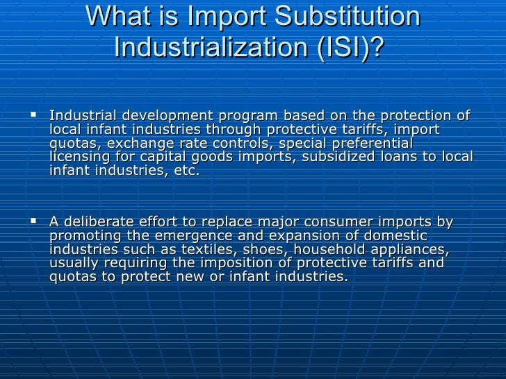 taiwan and its success in import substitution Importsubstitutionstrategyof economicdevelopment in korea8and taiwan examined import substitution in capital goods and.