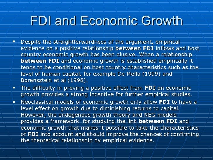 the relationship between trade fdi and economic growth in tunisia