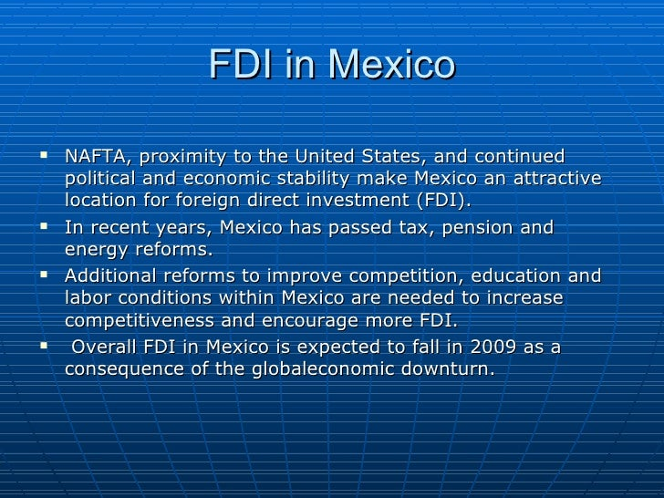 The importance of a successful nafta for the united states economy