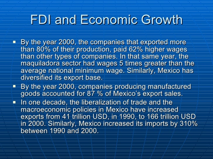 The role of nafta in the economic development of the united states