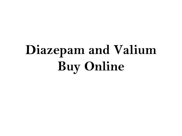 can you order valium online