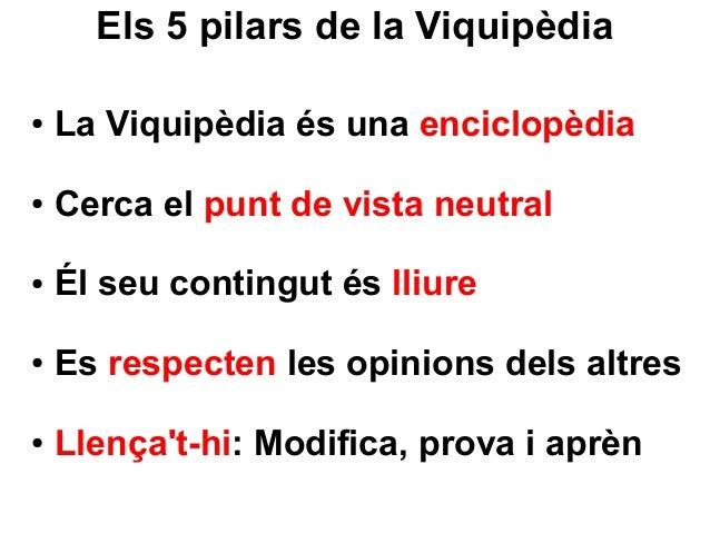 Taller de Viquipèdia per a gestors culturals Slide 3
