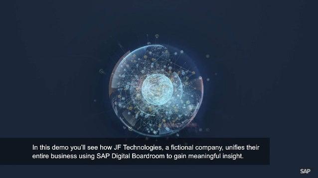 Unify Line of Business Data with SAP Digital Boardroom Slide 2
