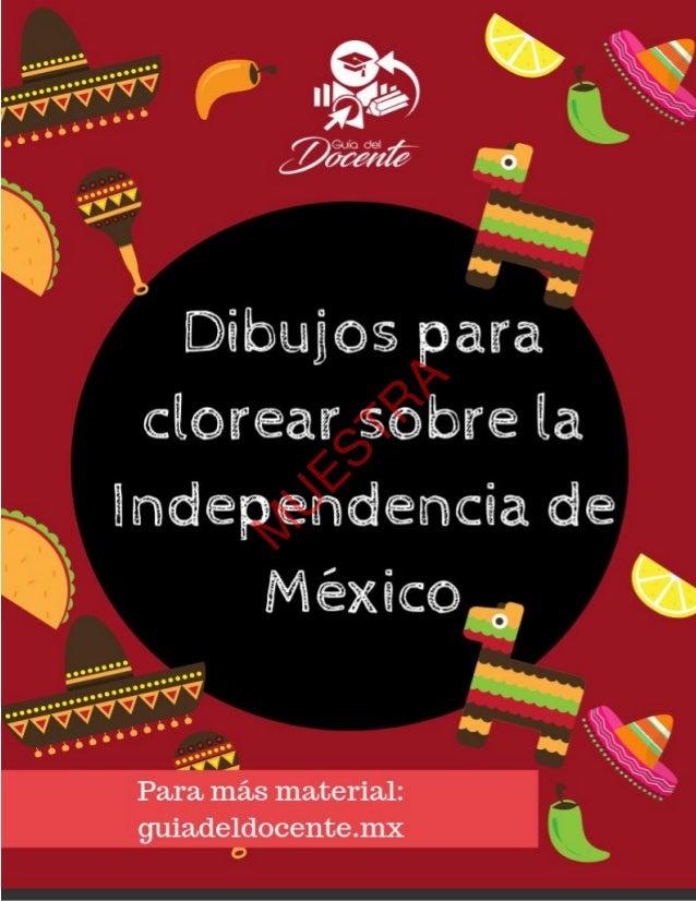 Colorea Y Aprende Sobre La Independencia De México