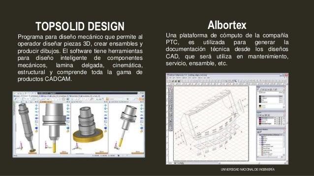 Albortex Una plataforma de cómputo de la compañía PTC, es utilizada para generar la documentación técnica desde los diseño...