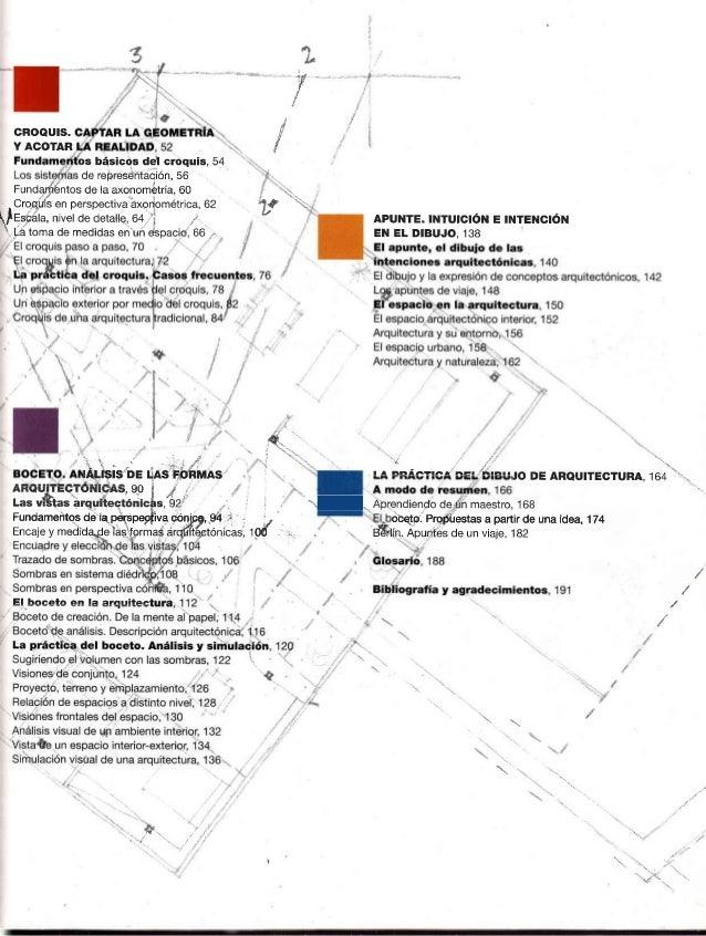 Dibujo a mano alzada para arquitectos completo for Pie de plano arquitectonico pdf